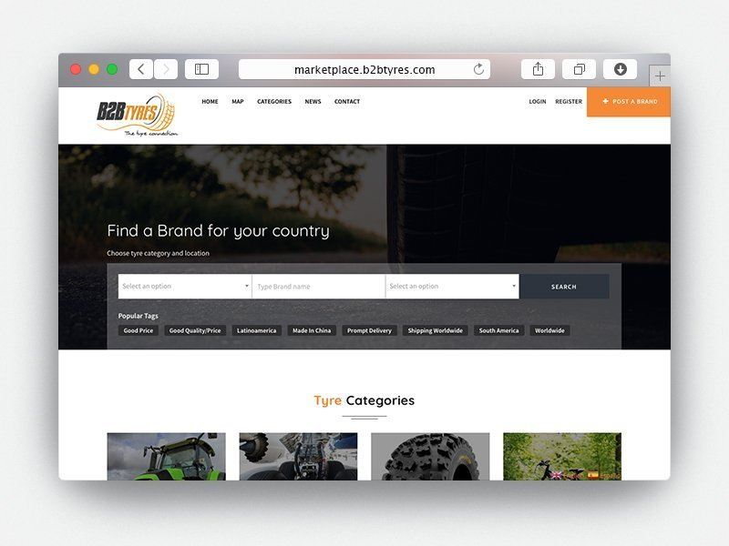 web b2b tyres